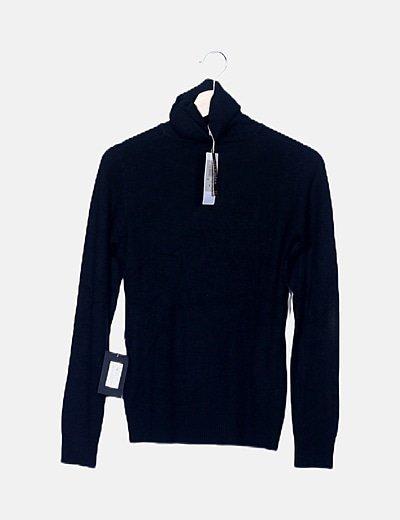 Jersey negro combinado