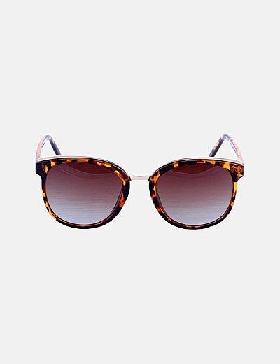 Gafas de sol montura animal print