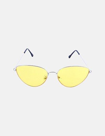 Gafas de sol cristal amarillo