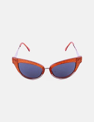 Gafas de sol cat eye glitter