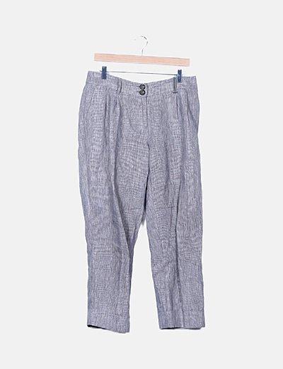 Pantalón gris chino