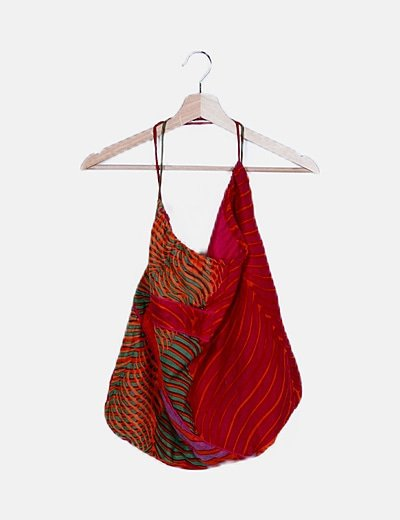Bolso saco multicolor