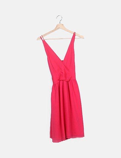Vestido rosa tirantes