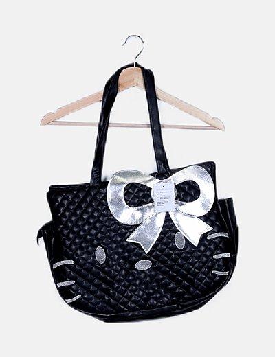 Bolso negro Hello Kitty
