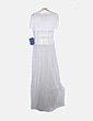 Vestido combinado blanco Josep Font