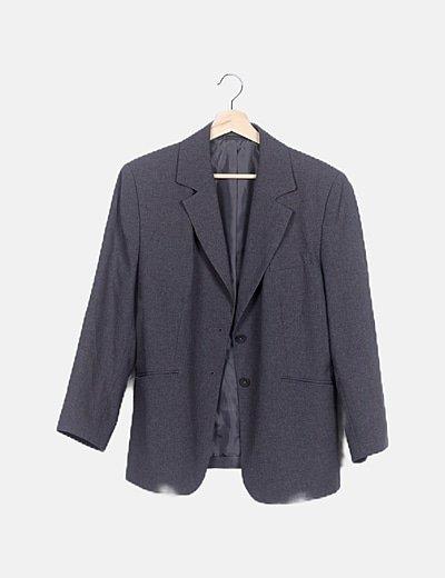 Traje deoantalón y blazer gris