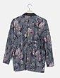 Kimono gris fluido estampado floral ONLY