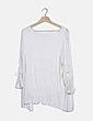 Jersey tricot blanco Global