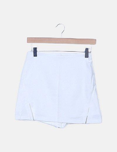 Faldapantalón blanca