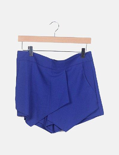 Faldapantalón azul