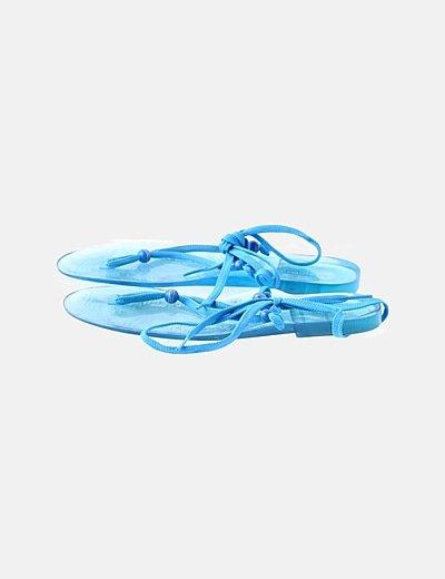 Chancleta azul laze up