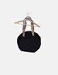Bolso acolchado negro combinado Skunkfunk