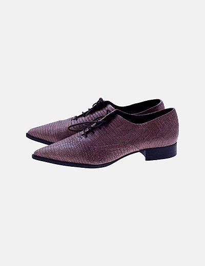 Zapato de tacón animal print