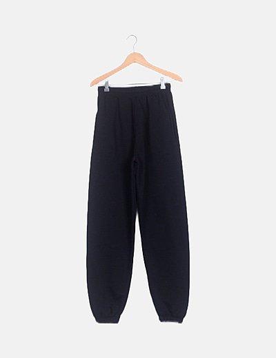 Pantalón deportivo jogger negro