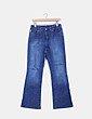 Jeans tono medio acampanado El Corte Inglés