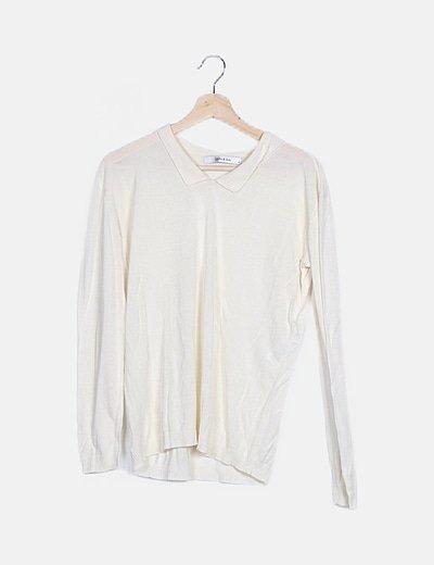 Camisa elástica blanca