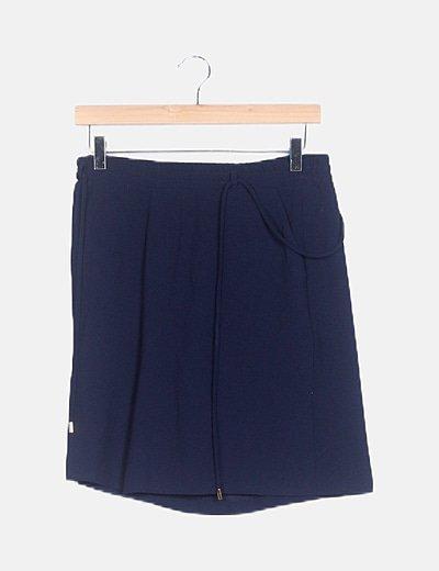 Falda pantalón azul marina
