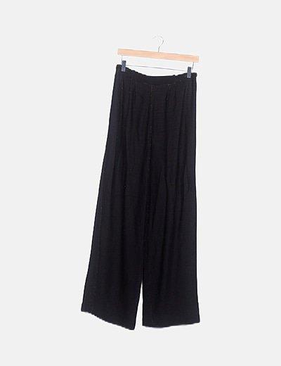 Pantalón + Blusa negra fluido glittter