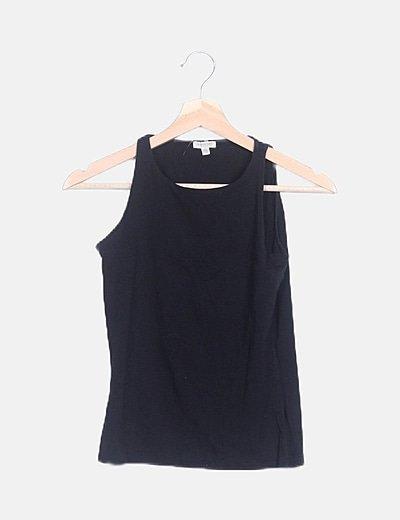 Camiseta tirantes negra
