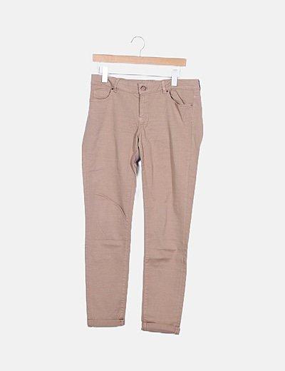 Jeans beige básico