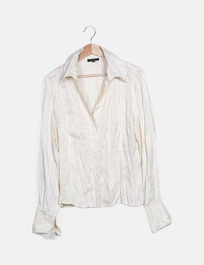 Camisa rayas blanca
