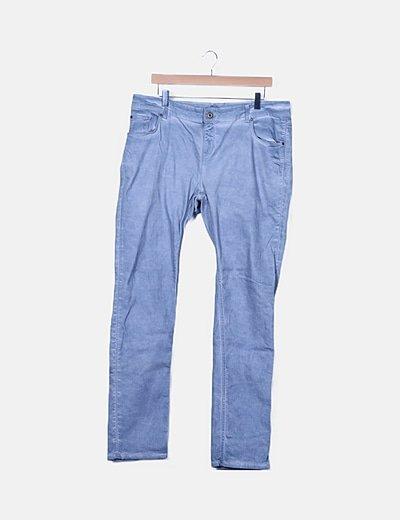 Pantalón azul tie dye