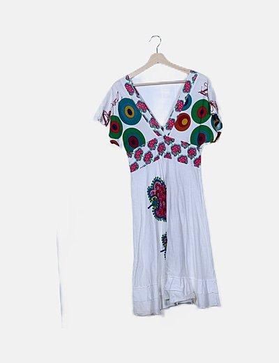 Maxi vestido estampado