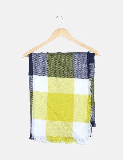 Bufanda multicolor crochet