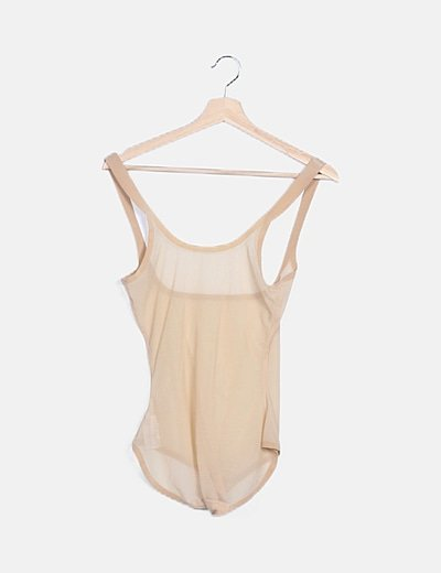 Body beige semitransparente