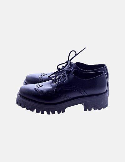 Zapatos blucher negros