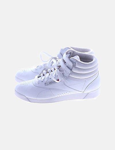 Zapatillas botín blancos