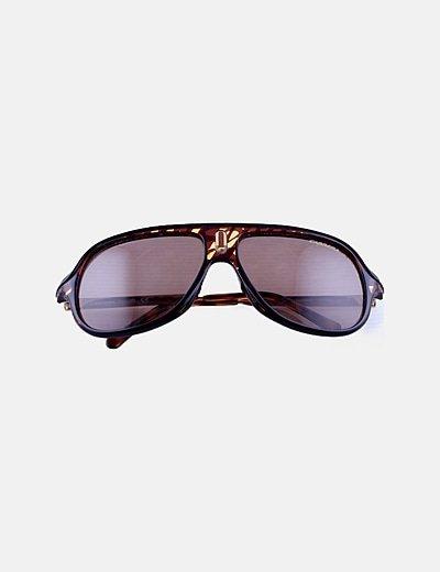 Gafas de sol montura marrón
