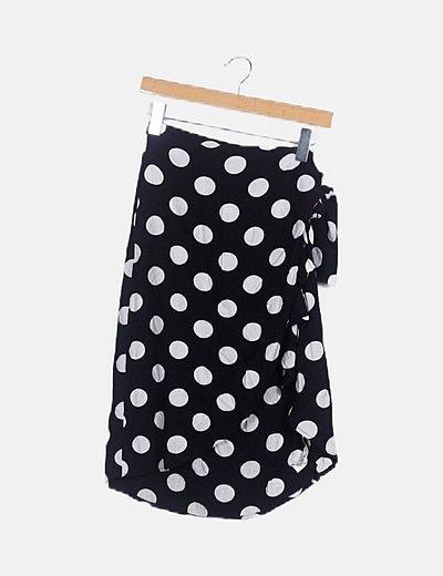 Falda negra topos