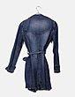 Gabardina denim lace up Zara