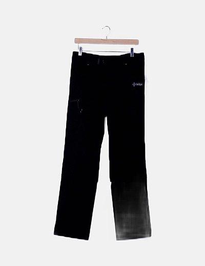 Pantalón negro deportivo