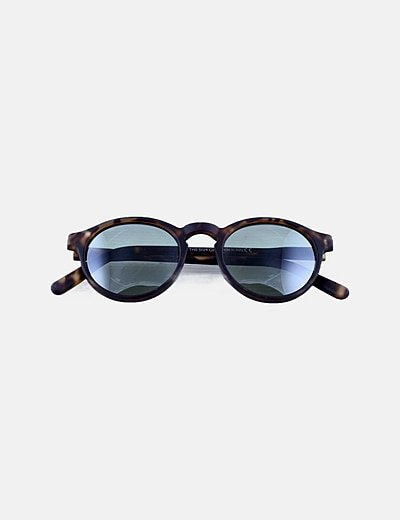 Gafas de sol montura mate drapeadas