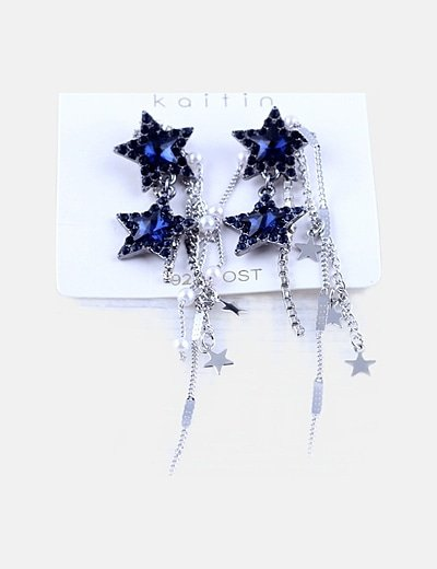 Pack pendientes strass