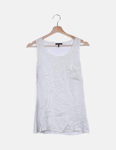 Camiseta blanca tirantes