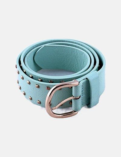 Cinturón verde tachas