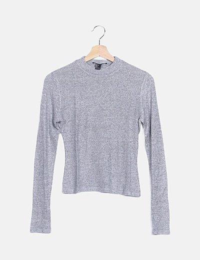 Jersey fino gris