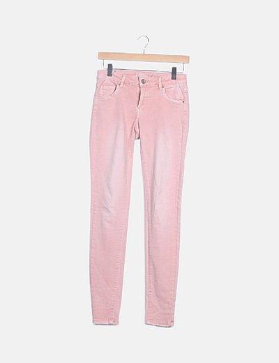 Pantalón jeans rosa