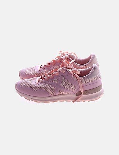 Zapatillas deportivas rosas