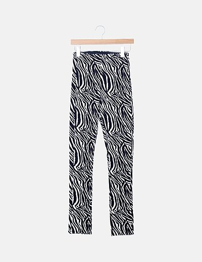 Legging estampado zebra