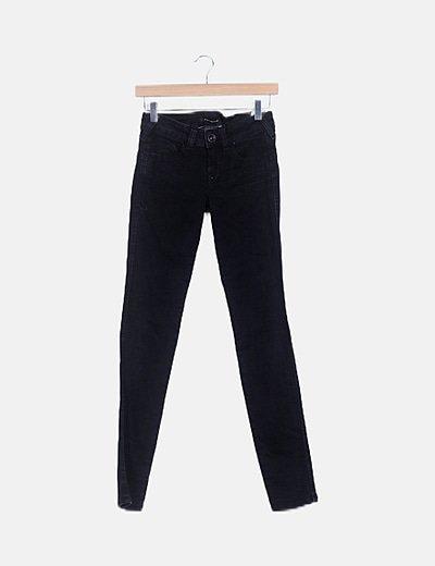Jeans negro super skinny