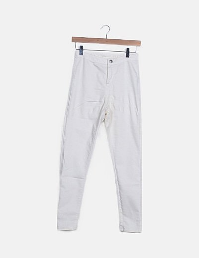 Jeans básico blanco