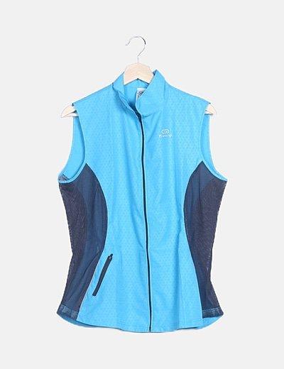 Chaleco azul sport