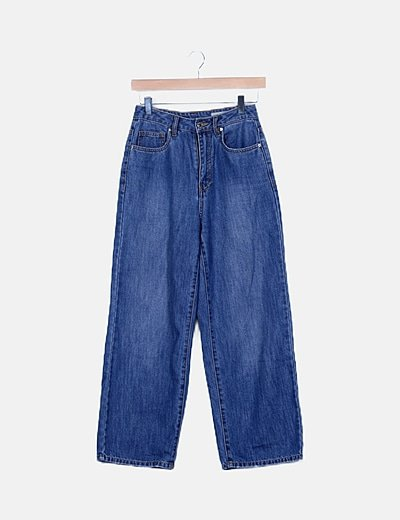 Jeans denim rectos