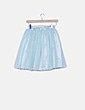 Falda mini tul azul Cherry koko