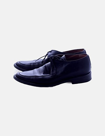 Zapatos blucher negros