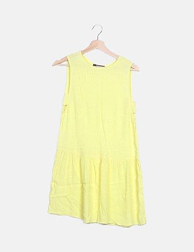 Vestido pichi amarillo